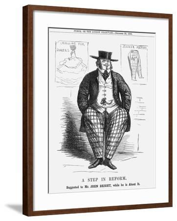 A Step in Reform. Suggested to Mr. John Bright, While He Is About It, 1858--Framed Giclee Print