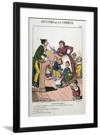 Paris Commune, 1871--Framed Giclee Print