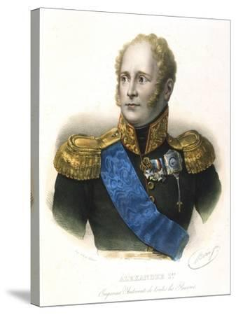 Alexander I, Tsar of Russia, C1801-1825--Stretched Canvas Print