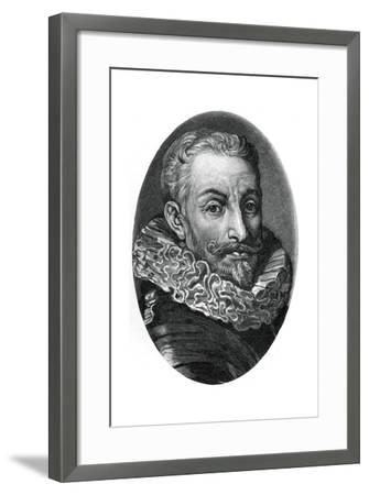 Johann Tserclaes, Count of Tilly, Flemish Soldier of the Thirty Years War-Sir Anthony Van Dyck-Framed Giclee Print