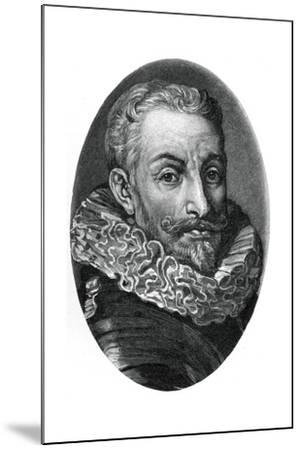 Johann Tserclaes, Count of Tilly, Flemish Soldier of the Thirty Years War-Sir Anthony Van Dyck-Mounted Giclee Print