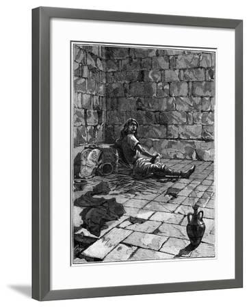 Vercingetorix Imprisoned in the Tullianum in Rome, C52-46 BC (1882-188)--Framed Giclee Print