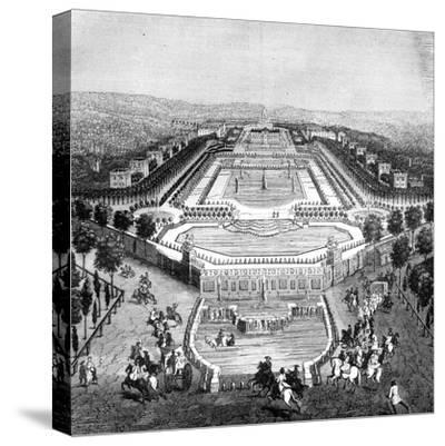 Chateau De Marly, France, 1722 (1882-188)--Stretched Canvas Print