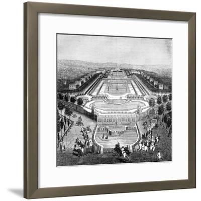 Chateau De Marly, France, 1722 (1882-188)--Framed Giclee Print