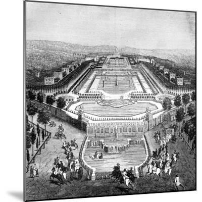 Chateau De Marly, France, 1722 (1882-188)--Mounted Giclee Print