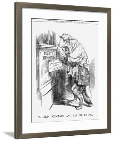 Injured Innocence and His Billet-Doo, 1860--Framed Giclee Print