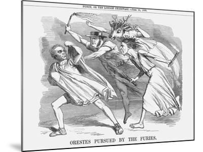 Orestes Pursued by the Furies, 1858--Mounted Giclee Print