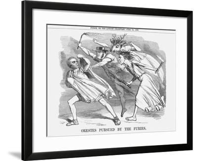 Orestes Pursued by the Furies, 1858--Framed Giclee Print