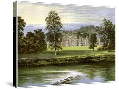 Abbotsford, Roxburghshire, Scotland, Home of the Scott Family, C1880-AF Lydon-Stretched Canvas Print
