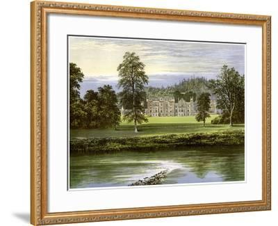 Abbotsford, Roxburghshire, Scotland, Home of the Scott Family, C1880-AF Lydon-Framed Giclee Print
