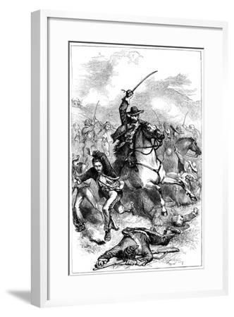 Battle of Buena Vista, Mexico, 1847--Framed Giclee Print