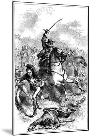 Battle of Buena Vista, Mexico, 1847--Mounted Giclee Print