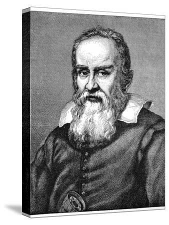 Galileo Galilei (1564-164), 1882-Justus Sustermans-Stretched Canvas Print
