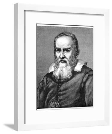 Galileo Galilei (1564-164), 1882-Justus Sustermans-Framed Giclee Print