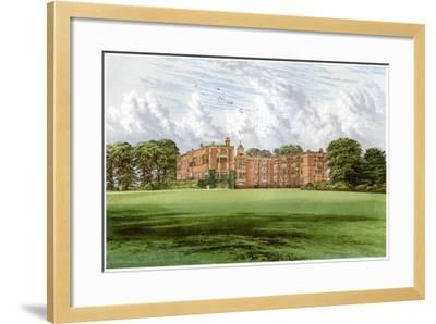 Temple Newsam, Home of the Meynell-Ingram Family, C1880-Benjamin Fawcett-Framed Giclee Print