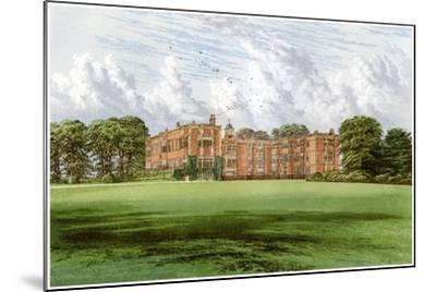 Temple Newsam, Home of the Meynell-Ingram Family, C1880-Benjamin Fawcett-Mounted Giclee Print