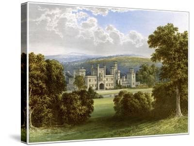 Ravensworth Castle, County Durham, Home of the Earl of Ravensworth, C1880-AF Lydon-Stretched Canvas Print