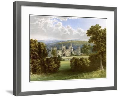 Ravensworth Castle, County Durham, Home of the Earl of Ravensworth, C1880-AF Lydon-Framed Giclee Print