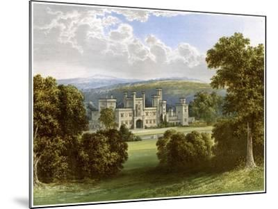 Ravensworth Castle, County Durham, Home of the Earl of Ravensworth, C1880-AF Lydon-Mounted Giclee Print
