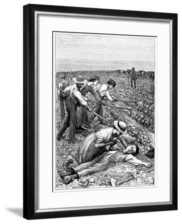 Gang System of Child Labour, C1885--Framed Giclee Print