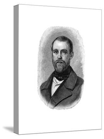 Otto Von Bismarck German Statesman, When Conservative Deputy and Inspector of Dykes, 1850--Stretched Canvas Print