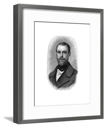 Otto Von Bismarck German Statesman, When Conservative Deputy and Inspector of Dykes, 1850--Framed Giclee Print