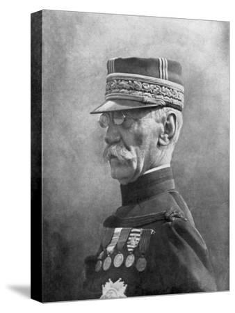 Joseph Gallieni, French First World War General, September 1914--Stretched Canvas Print