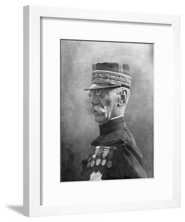 Joseph Gallieni, French First World War General, September 1914--Framed Giclee Print
