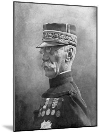 Joseph Gallieni, French First World War General, September 1914--Mounted Giclee Print