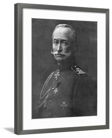 Alexei Brusilov, Russian Soldier, C1914-C1917--Framed Giclee Print