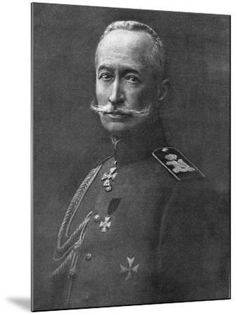 Alexei Brusilov, Russian Soldier, C1914-C1917--Mounted Giclee Print