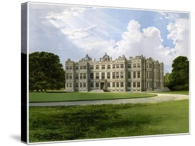 Longleat, Home of the Marquess of Bath, Wiltshire, C1880-AF Lydon-Stretched Canvas Print