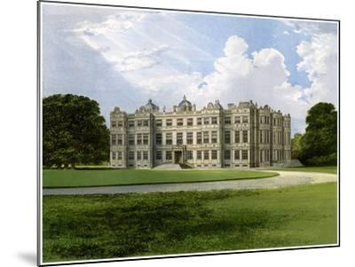 Longleat, Home of the Marquess of Bath, Wiltshire, C1880-AF Lydon-Mounted Giclee Print