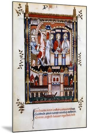 St Denis in Chains, 1317--Mounted Giclee Print