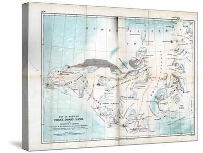 Western Franz Josef Land, 1899--Stretched Canvas Print