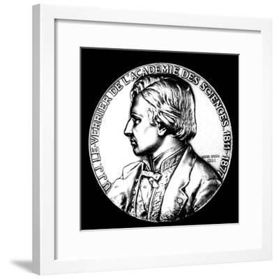 Ujj Leverrier, French Astronomer Who Calculated the Position of Planet Neptune in 1846--Framed Giclee Print