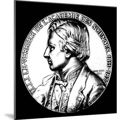 Ujj Leverrier, French Astronomer Who Calculated the Position of Planet Neptune in 1846--Mounted Giclee Print