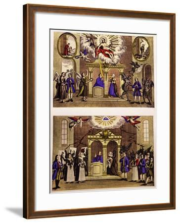 Confessions, 18th Century--Framed Giclee Print