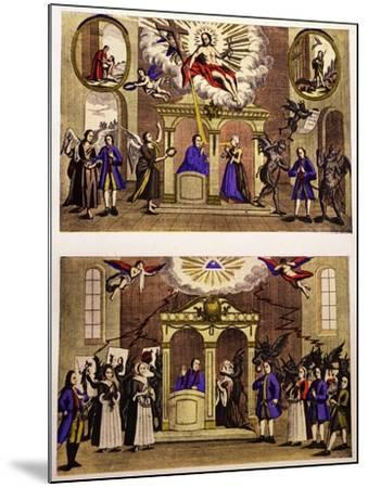 Confessions, 18th Century--Mounted Giclee Print