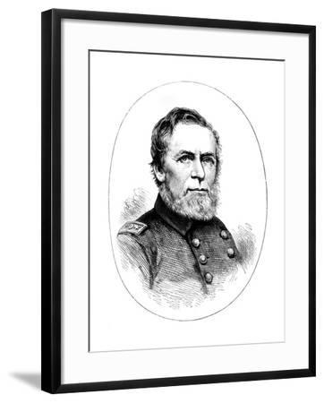 Commodore Ah Foote, Union Naval Officer of the American Civil War--Framed Giclee Print