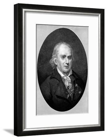 William Bartram (1739-182), American Naturalist, 1896--Framed Giclee Print
