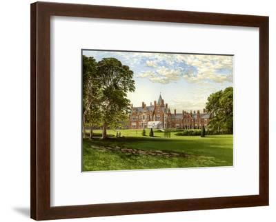 Bagshot Park, Surrey, Home of the Duke of Connaught, C1880-Benjamin Fawcett-Framed Premium Giclee Print