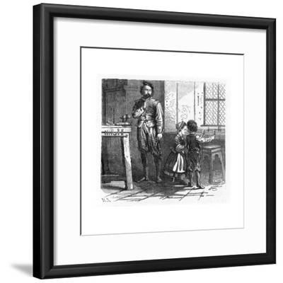 Discovery of the Principle of the Telescope, 17th Century--Framed Giclee Print