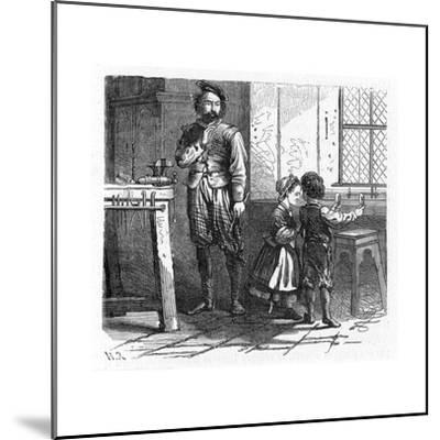 Discovery of the Principle of the Telescope, 17th Century--Mounted Giclee Print