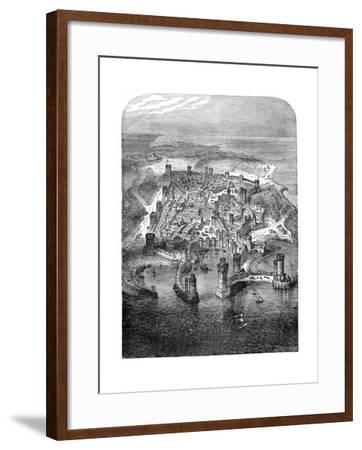 A View of Rhodes, 1480 (1882-188)--Framed Giclee Print