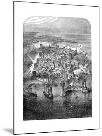 A View of Rhodes, 1480 (1882-188)--Mounted Giclee Print