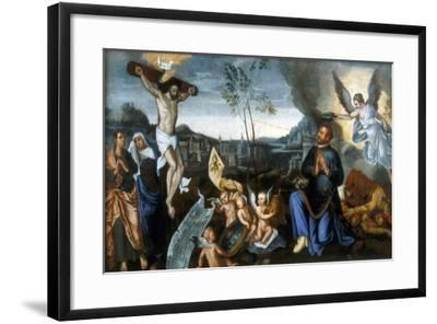 Miklos Zrinyi, Heroic Croatian/Hungarian General, Late 16th Century--Framed Giclee Print