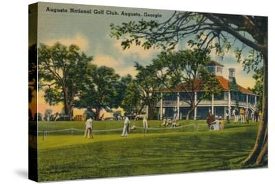 Augusta National Golf Club House, 1943--Stretched Canvas Print
