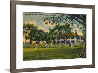 Augusta National Golf Club House, 1943--Framed Giclee Print