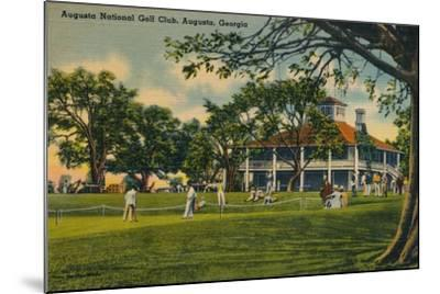 Augusta National Golf Club House, 1943--Mounted Giclee Print